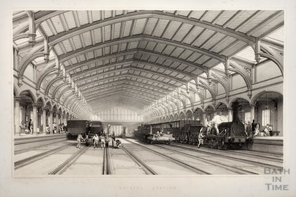 Brunel's original Bristol Station, 1840