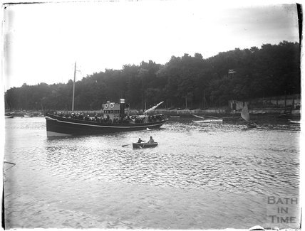 Steamship at Weymouth, 1924