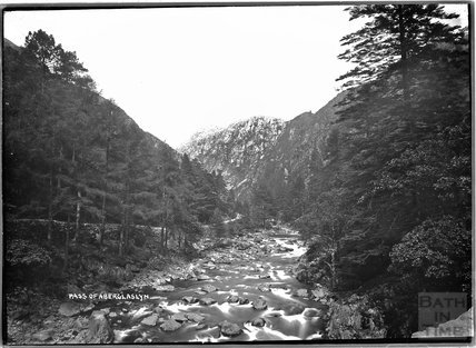 Pass of Aberglaslyn, North Wales c.1920s