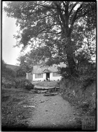 Mill House, Lydford, Dartmoor, Devon, c.1906