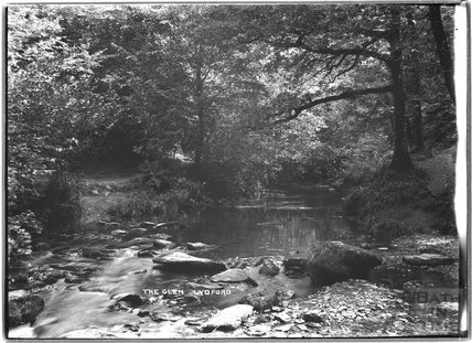 The Glen, Lydford, Dartmoor, Devon, c.1906