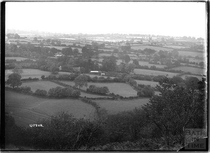 View of Upton, near Dulverton, Exmoor, 1934