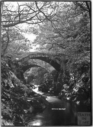 Roman Bridge, near Betws-y-Coed, North Wales c.1920s