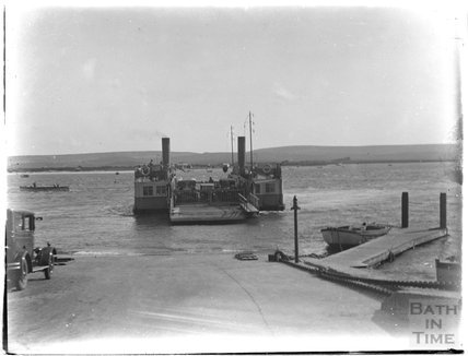 Sandbanks Ferry, near Poole, Dorset, c.1930