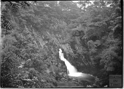 Conway Falls, near Betws-y-Coed, North Wales c.1920s