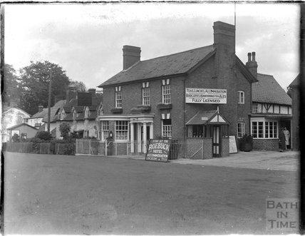 The Roebuck Hotel, Brimfield, Herefordhshire, c.1935
