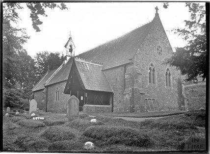 The church at Upton, near Dulverton, Exmoor, 1934