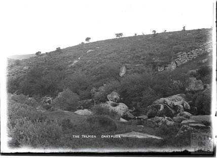 The Tolmen, Dartmoor, Devon, 1906
