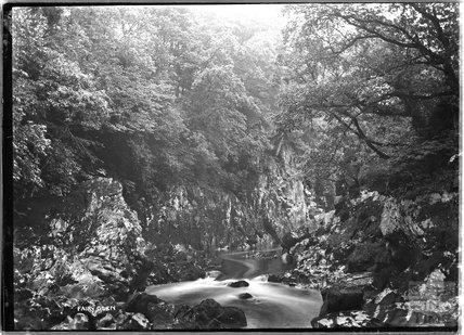 Fairy Glen, near Betws-y-Coed, North Wales c.1920s