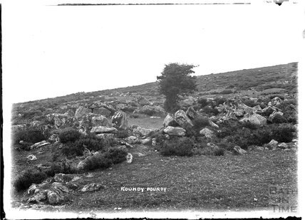 Roundy Poundy, Dartmoor, Devon, 1906