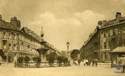 Laura Place, Great Pulteney Street, Bath c.1920s
