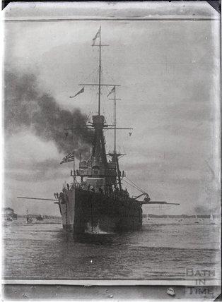 HMS New Zealand, c.1915