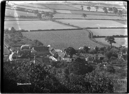 View of Bossington, near Minehead, Somerset, c.1920s