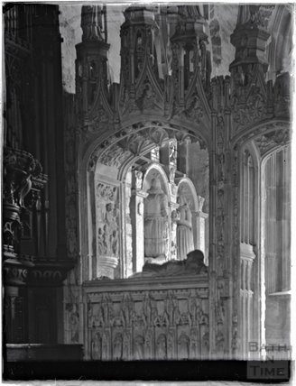 The Kirkham Chantry Screen at St John the Baptist, Paignton, Devon, late 1920s