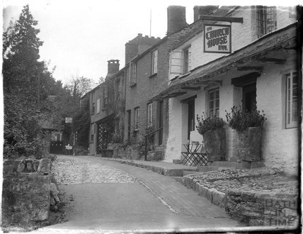 The Church House Inn, Stoke Gabriel, near Dartmouth, Devon, late 1920s