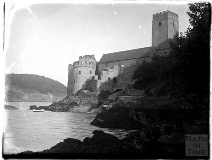 Dartmouth Castle on the estuary, Dartmouth, Devon, 1929