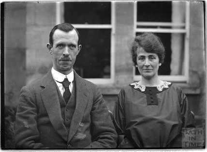 Portrait of an unknown couple, probably from Bath, c.1915