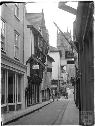 Timber framed building, Foss Street, Dartmouth, Devon, 1929