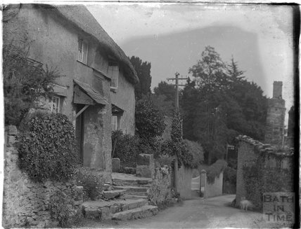 Thatched cottage, Dartmouth, Devon, 1929