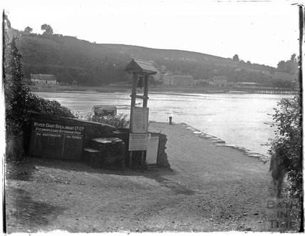 Greenway Ferry, Dittisham, Dartmouth, Devon, late 1920s