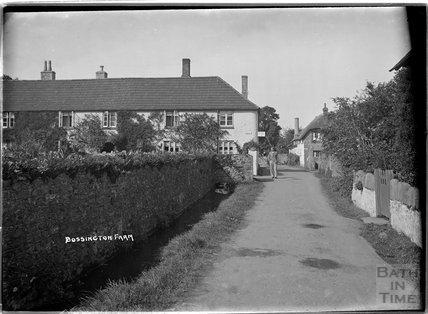 Bossington Farm, Bossington, near Minehead, Somerset, c.1920s