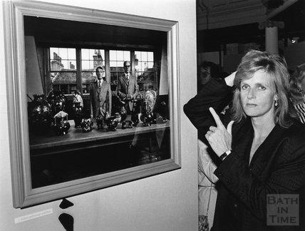 Linda McCartney at the Octagon, Bath, February 1987