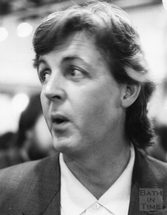 Paul McCartney at the Octagon, February 1987