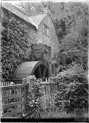 Dunster Watermill, near Minehead, Somerset c.1920s
