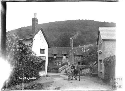 Allerford, near Minehead, Somerset c.1932