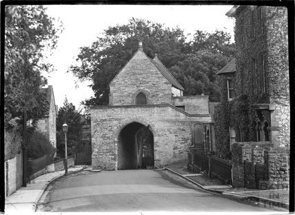 The Hanging Chapel, St Mary's Church, Huish Escopi, Weston Zoyland, Langport, Somerset 1931