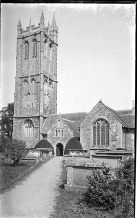 Yate Parish Church, c.1920s