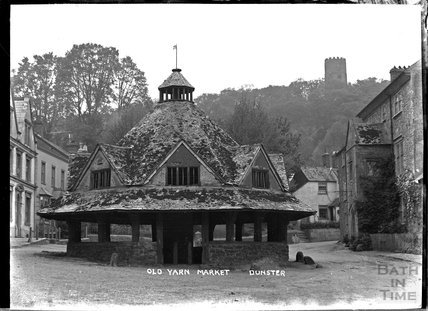 Old Yarn Market, Dunster, near Minehead, Somerset c.1920s