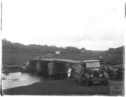 Ancient bridge, Yelverton, Dartmoor, Devon, 1928