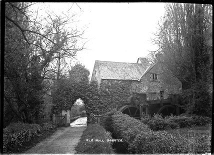 Old Watermill, Dunster, near Minehead, Somerset c.1920s