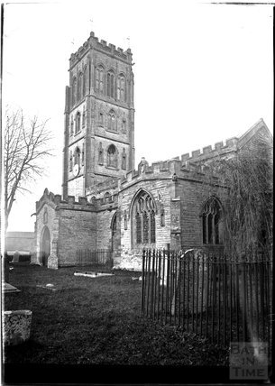 Weston Zoyland Church, Somerset 1931