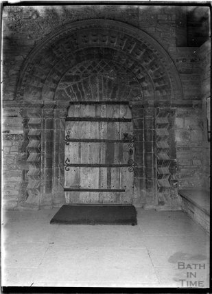 Norman Doorway, St Mary's Church, Huish Escopi, Weston Zoyland, Langport, Somerset 1931