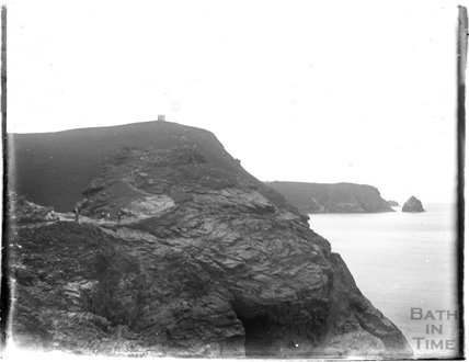 The Coastline somewhere in Devon, 1928