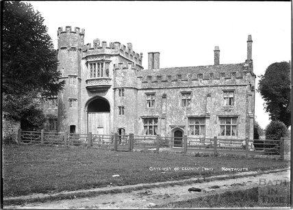 Gateway of Cluniac Montacute Priory c.1920s