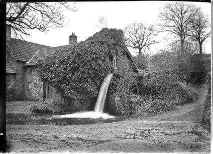 Piles Mill, Allerford near Minehead, Somerset c.1932