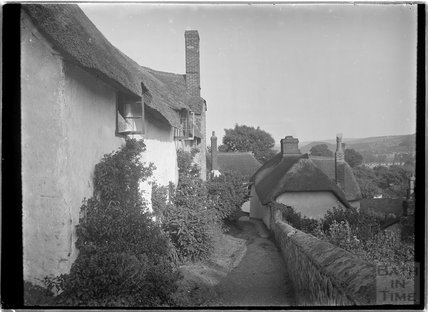 View from church, Minehead, Somerset c.1905 - 1915