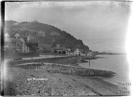 The Quay and sea front, Minehead, no.20, Somerset c.1905 - 1915