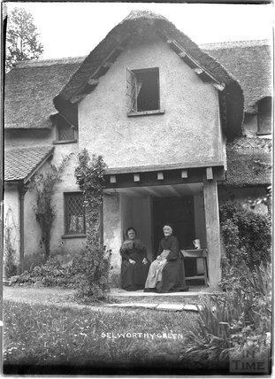 Selworthy Green, near Minehead, Somerset,  1912
