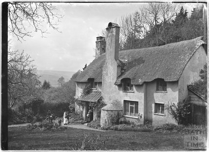 Thatched Cottage, Selworthy Green, near Minehead, Somerset,  1912