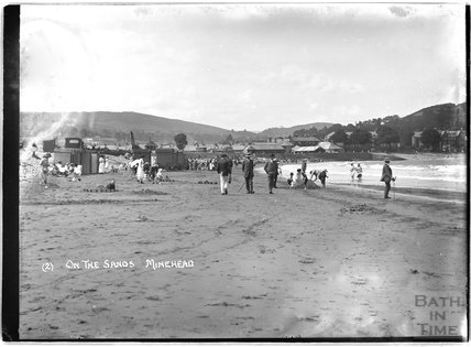 On the sands, Minehead, Somerset, no.2 c.1905 - 1915
