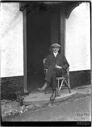 Portrait of a gentleman, Minehead, Somerset c.1905 - 1915