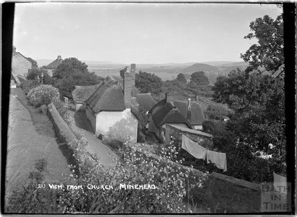 View from church, Minehead, Somerset no.21, c.1905 - 1915