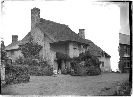 Thatched Cottage, Minehead, Somerset c.1905 - 1915
