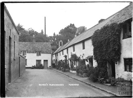 Quirke's Almshouses, Minehead, Somerset no.3, c.1905 - 1915