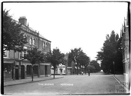 The Avenue,  Minehead, Somerset c.1905 - 1915