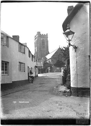 View of St Michael's Church, Minehead, Somerset, no.7,  c.1905 - 1915